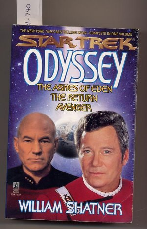 Star Trek Odyssey 3 in 1 The Ashes of Eden, The Return, Avenger SC