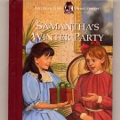 Samantha's Winter Party American Girls Short Stories by Valerie Tripp HC