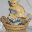 Laundry Day Cat Figure Lenox