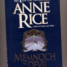 Memnoch the Devil The Vampire Chronicles by Anne Rice SC