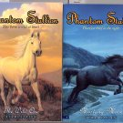 Lot of 2 Phantom Stallion The Wild One Mustang Moon SC