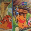 Lot of 2 Winnie the Pooh and Tigger Too and How to Catch a Heffalump HC
