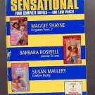 Sensational Four Complete Novels, Shayne, Boswell, more PB