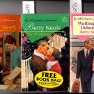 Lot of 3 Harlequin Romance by Betty Neels PB