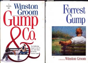Lot of 2 Forrest Gump and Gump and Company by Winston Groom HC