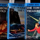 Lot of 3 Hardy Boys Tower Treasure House on the Cliff Secret of the Old Mill HC