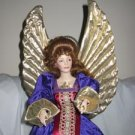 Angel of Harmony Porcelain Doll Franklin Mint