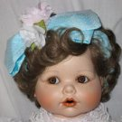 Jessica's First Birthday Porcelain Doll by Marie Osmond