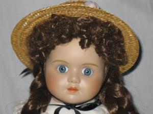Swiss Porcelain Doll