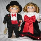 Set of Bette Ball Dolly Dandy Dingle Porcelain Dolls by Goebel