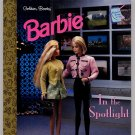 Golden Books Barbie in the Spotlight HC