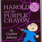 Harold and the Purple Crayon by Crockett Johnson HC