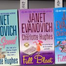 Lot of 3 Janet Evanovich Speed, Blast, Bloom PB