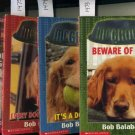 Lot of 4 McGrowl by Bob Balaban