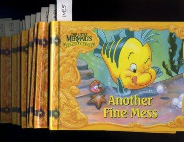 Lot of 10 Little Mermaid's Treasure Chest Books HC