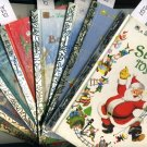 Lot of 8 Christmas Little Golden Books