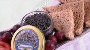 Classic Osetra Caviar Fresh Sturgeon Eggs Caviar Single Serving 1/2ounce