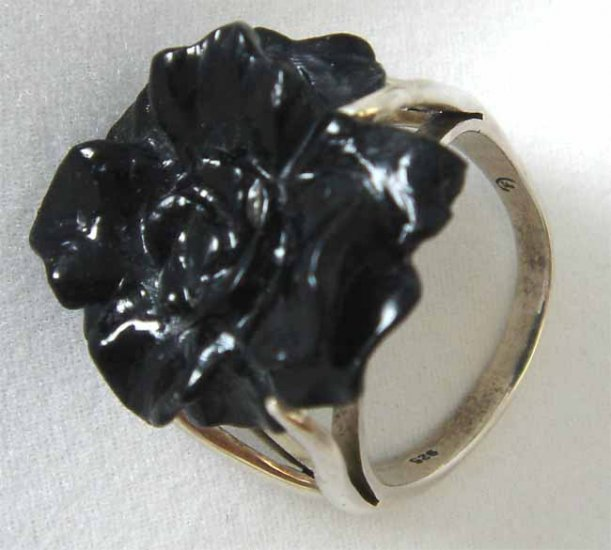 Thai  Hand Made Onyx Ring