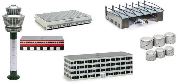 Herpa 1:500 Airport Basic Set 2 AS00001