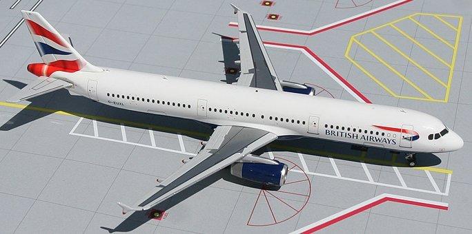 GeminiJets 1:200 British Airways Airbus 321 BA00001