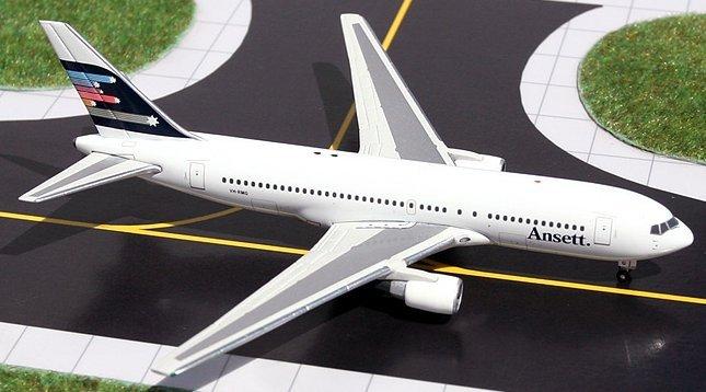 GeminiJets 1:400 Ansett Australia Boeing 767-200 AA00001