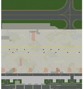 Herpa 1:500 Airport Ground Foil (for Basic Airport Set 1) APM00002