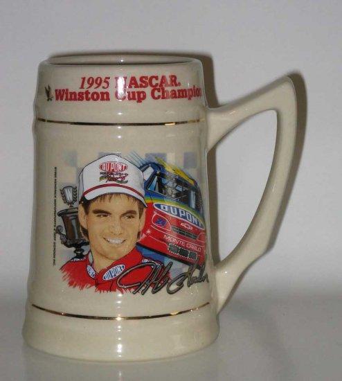 Jeff Gordon 1995 NASCAR Winston Cup Championship Stein