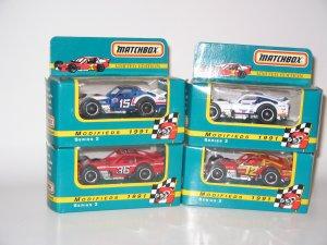 1991 NASCAR Modifieds 1:64 Diecast Matchbox Set of Four