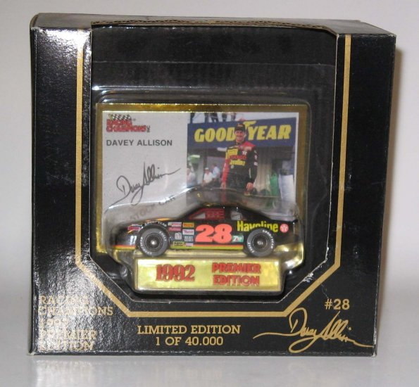 Davey Allison 1992 Havoline #28 1:64 Racing Champions Limited Edition