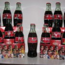 2002 NASCAR Family Coke Coca Cola 13  Bottle Set