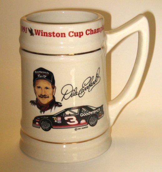 Dale Earnhardt 1991 NASCAR Championship Stein