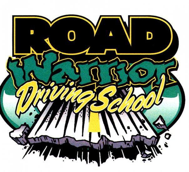 Road Warrior Driving School 2X T-Shirt