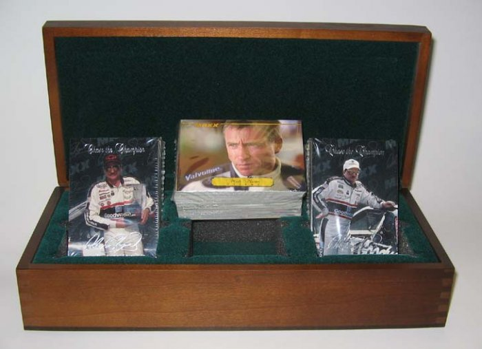 Limited Edition 1995 Maxx Race Cards Premier Series