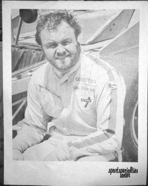 Vintage Jim Shampine B&W Poster