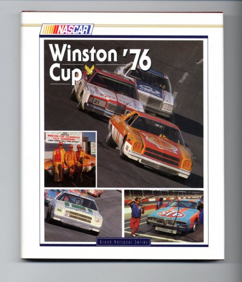 1976 NASCAR Winston Cup Yearbook Cale Yarborough