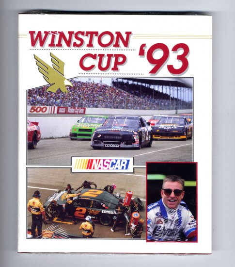1993 NASCAR Winston Cup Yearbook Dale Earnhardt