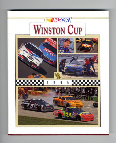 1995 NASCAR Winston Cup Yearbook Jeff Gordon