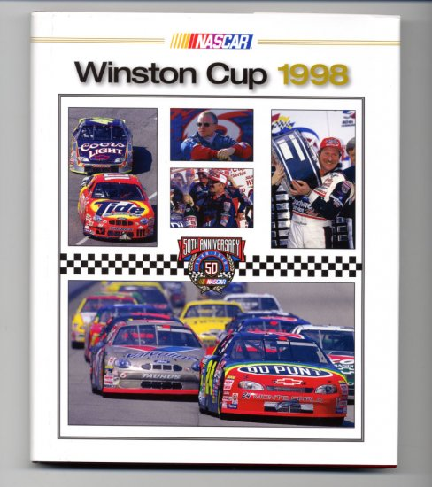 1998 NASCAR Winston Cup Yearbook Jeff Gordon