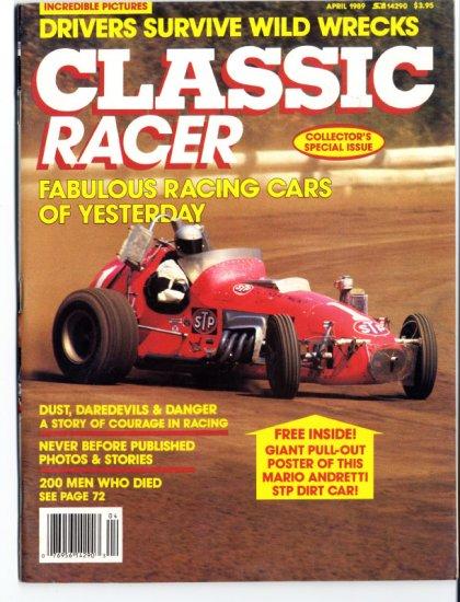 CLASSIC RACER Magazine April 1989
