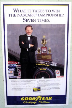 Dale Earnhardt Goodyear 7 Time Champ Poster