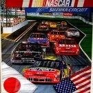 1995 SAM BASS NASCAR SUZUKA CIRCUIT PRINT