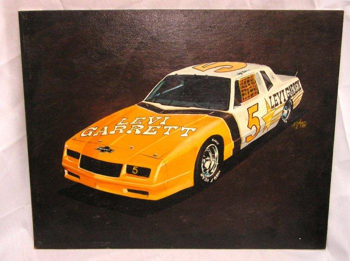 Levi Garrett #5 Geoff Bodine Original Oil Painting NASCAR