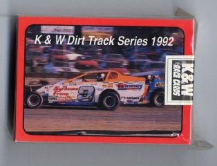 Dave Smith Cda >> K & W Dirt Track Series 1992 Race Cards Northeast Dirt ...