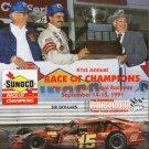 41st Annual Sunoco Race of Champions 1991 Pocono  Modified Tour Stefanik Bugs Stevens