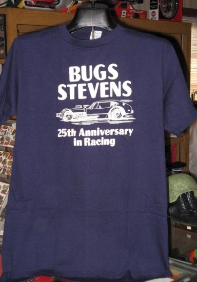 Bugs Stevens 25th Anniversary Modified Racing T-Shirt XL