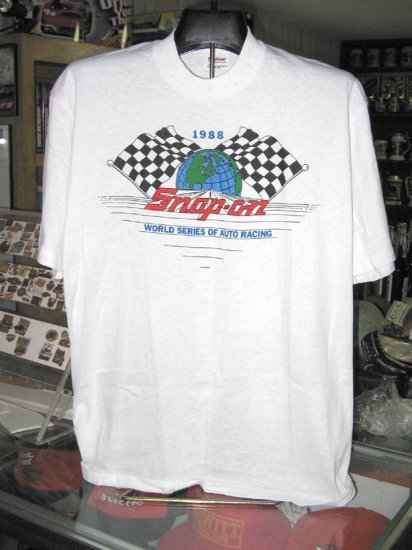 Snap On World Series of Auto Racing 1988 Tshirt XL