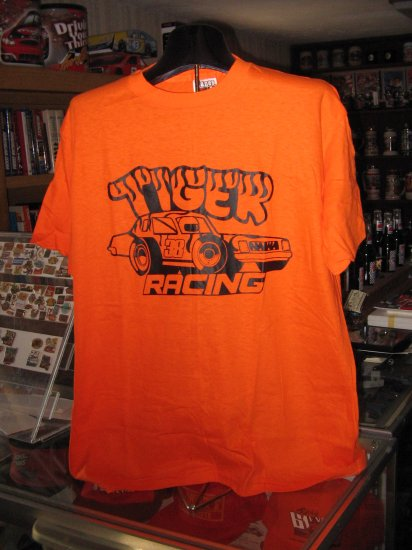 Tiger Racing #38 Orange XL Tshirt SH1528