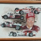 Charlie Jarzombek Coors Racing Painting by Al DiMauro
