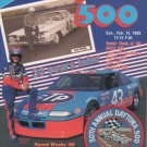 1988 30th Anniversay Daytona 500 Program with patch NASCAR Winston Cup Grand National Speedweeks