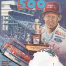 1989 31st Annual Daytona 500 Program NASCAR Bill Elliott Winston Cup Grand National Speedweeks
